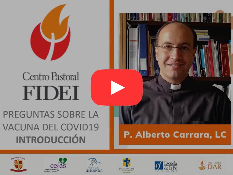 Conferencias sobre el covid por el Padre Alberto